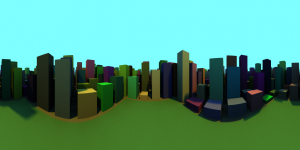 06_City_Cylindrical
