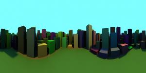 06_City_Cylindrical